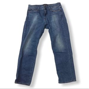 Lucky Brand Straight Sweet Crop Midrise Jean 10/30